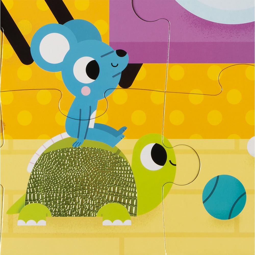 Пъзел осезание за деца Домашни любимци от Janod-bellamiestore