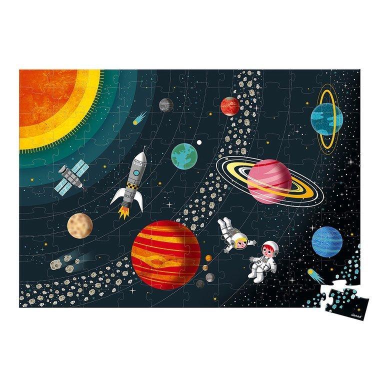 Пъзел за деца Слънчевата система от Janod-bellamiestore