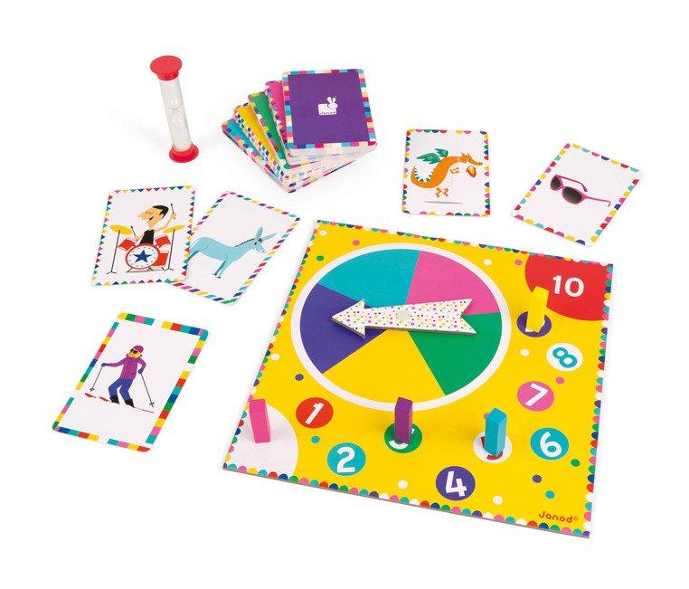 Забавна игра с мимики - Master Mime от Janod-bellamiestore
