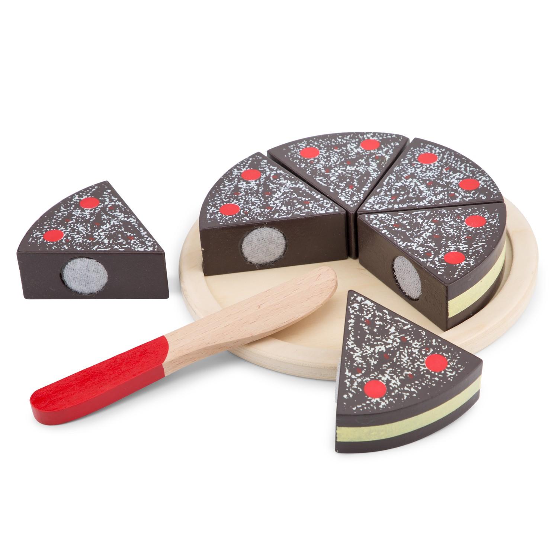 Дървена играчка Шоколадов кейк от New classic toys-bellamiestore