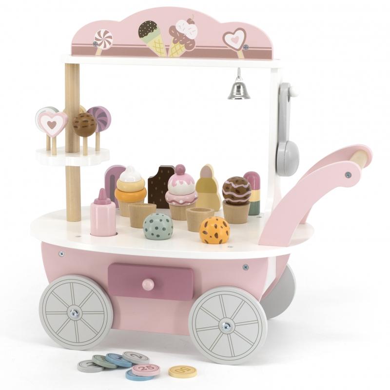 Дървена количка и магазин за сладолед от Polar B-bellamiestore