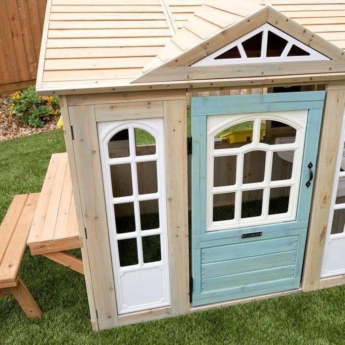 Детска дървена къща и магазин от KidKraft -bellamiestore