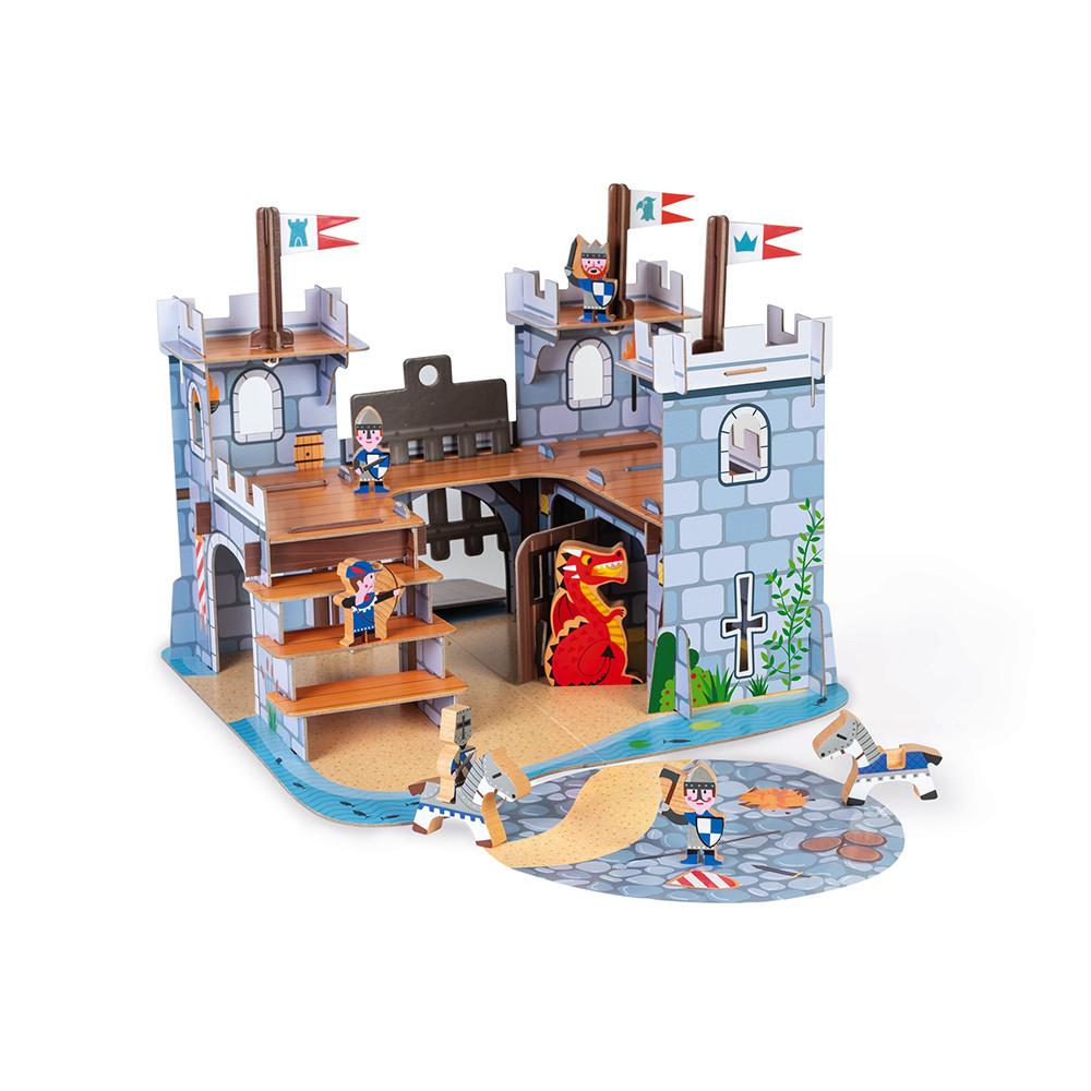 Janod Детска игра- Замък с рицари