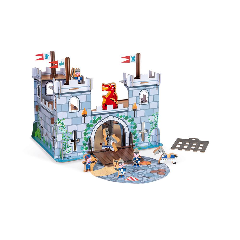 Janod Детска игра- Замък с рицари-bellamiestore