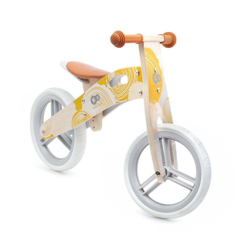 Колело за балансиране от Kinderkraft Runner в жълто-bellamiestore