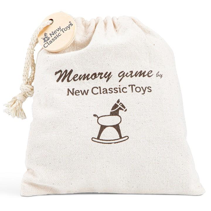Образовтелнна игра за памет с животни от New classic toys-bellamiestore