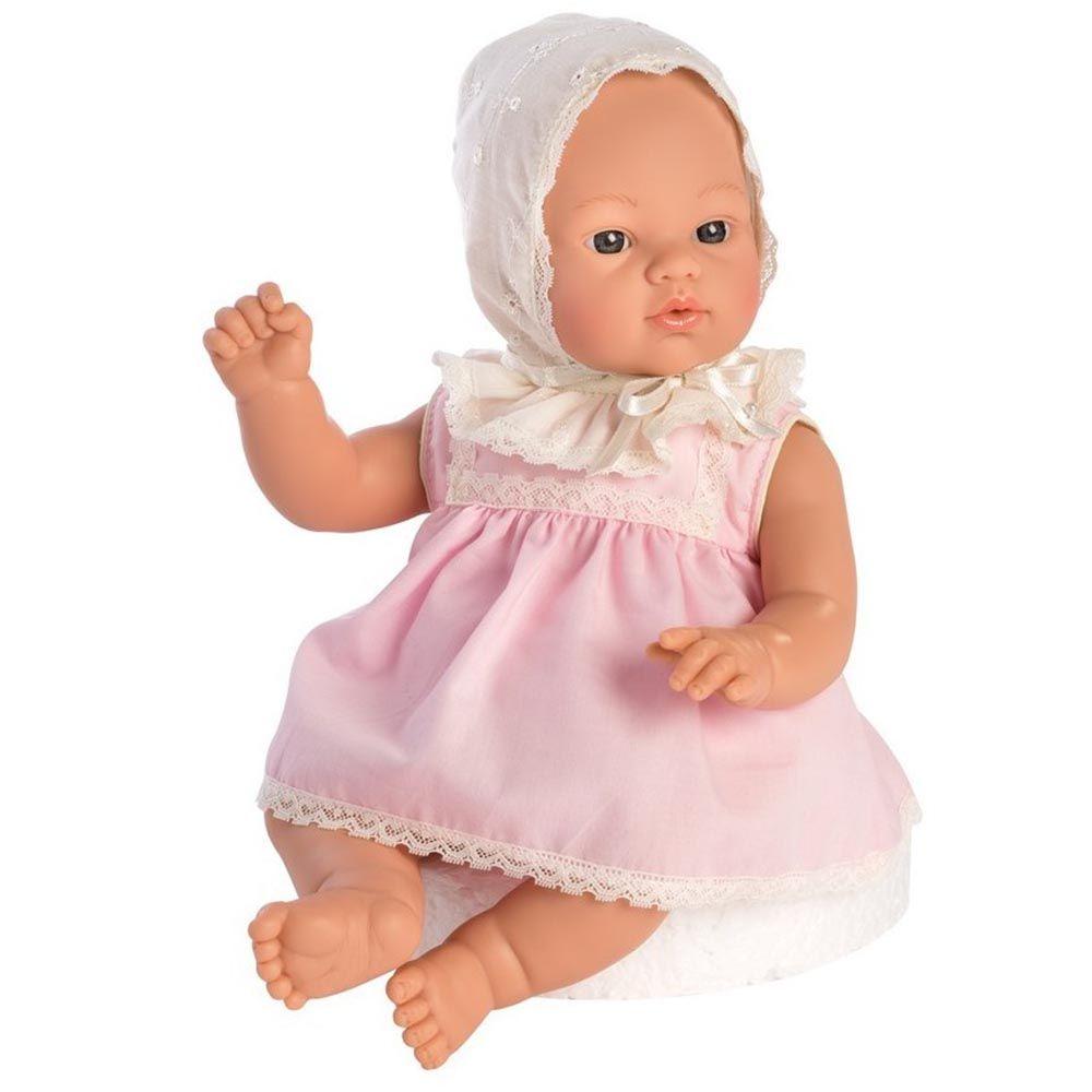 Asi Бебе кукла- Коке с розова рокля с дантели-bellamiestore