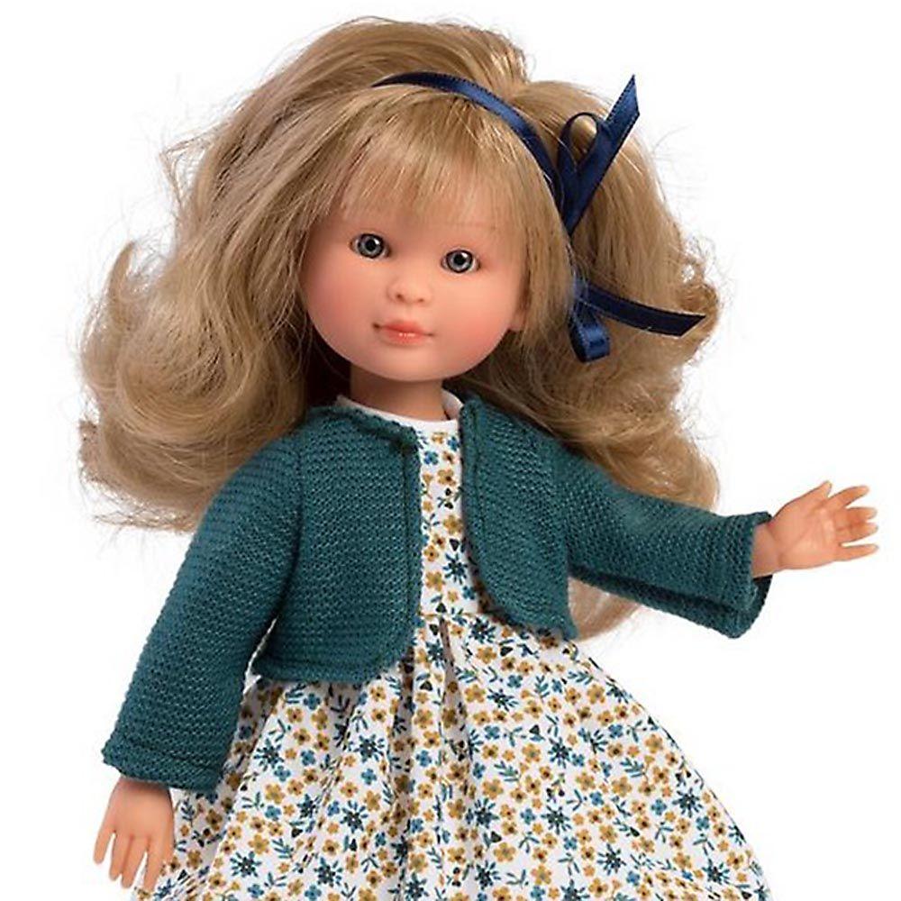 Asi Кукла Силия с цветна рокля и жилетка-bellamiestore