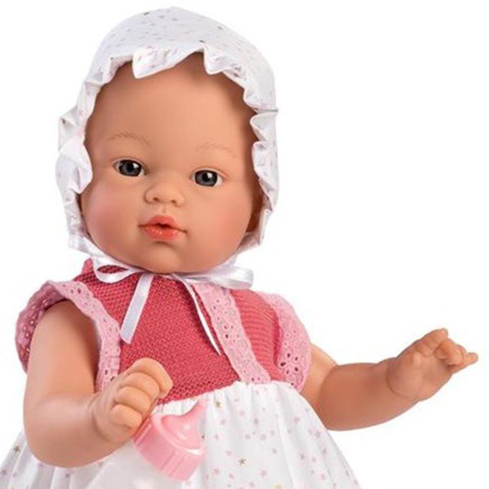 Бебе кукла Коке с дълга рокля и биберон от Asi dolls-bellamiestore
