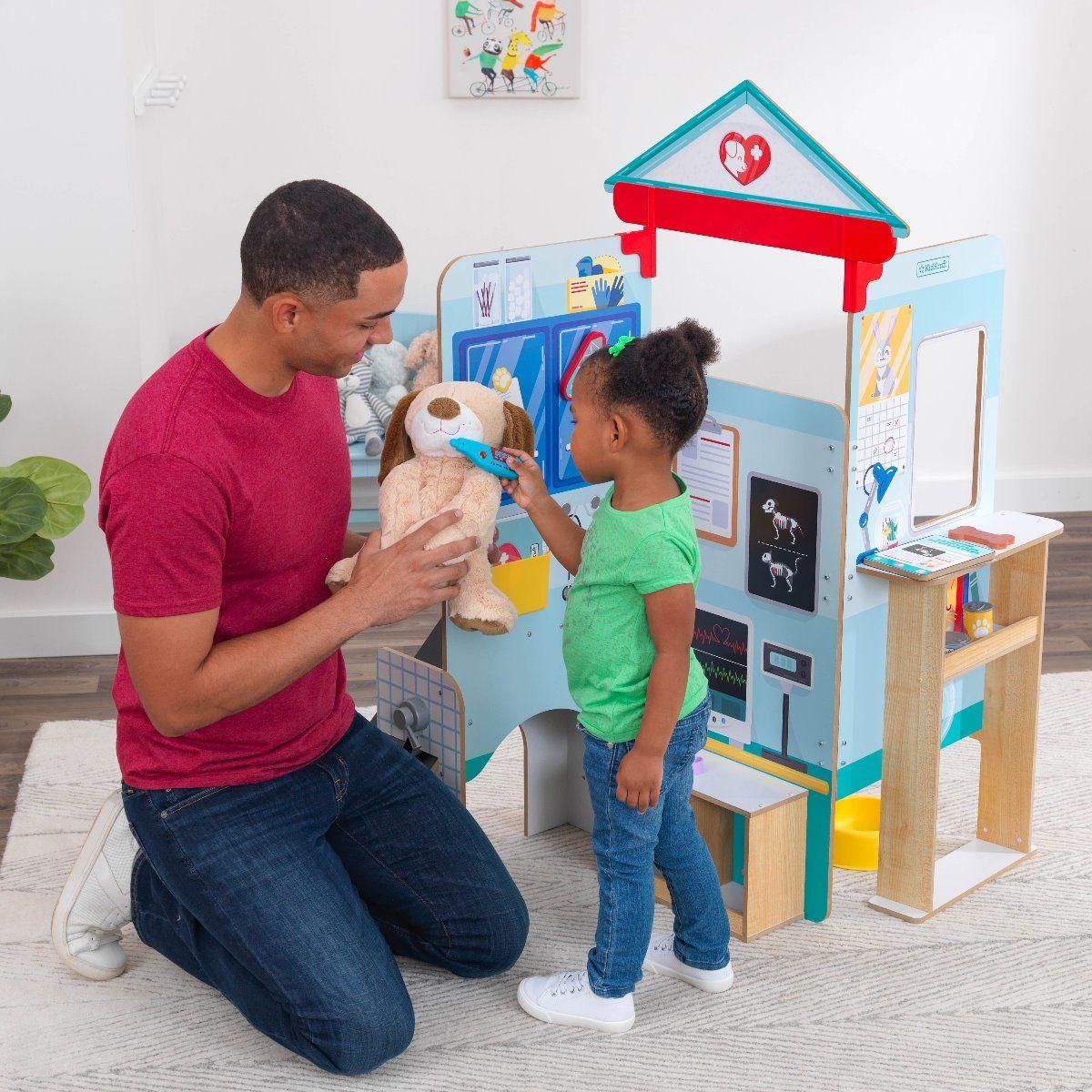 Комплект за игра - Клиника за животни от Kidkraft-bellamiestore