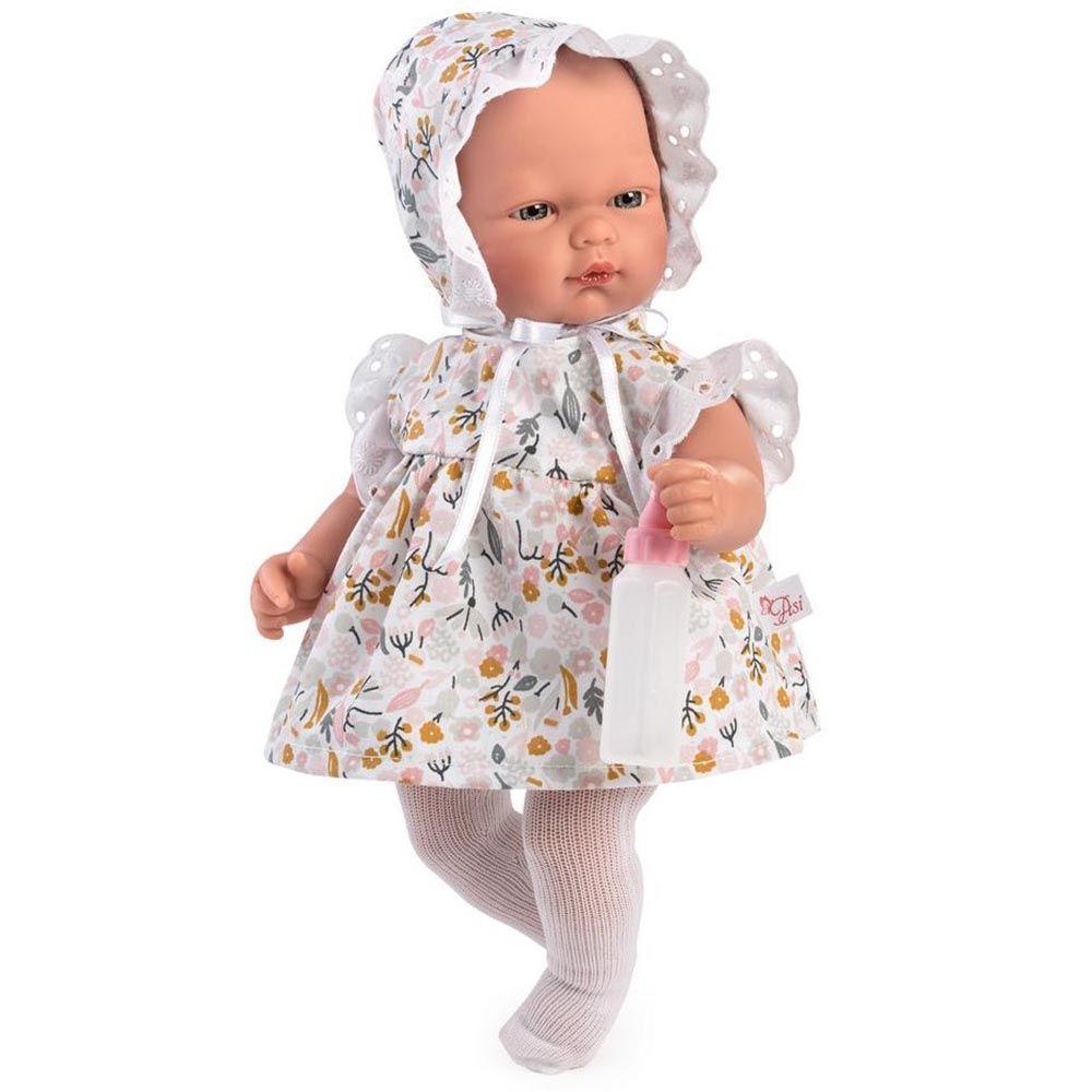 Кукла бебе Оли с рокля на цветя от Asi Dolls-bellamiestore